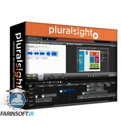 آموزش PluralSight Getting Started with Camtasia 8