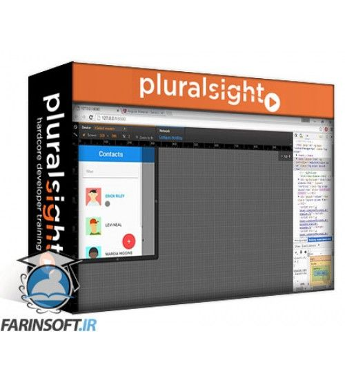 آموزش PluralSight Angular Material Fundamentals