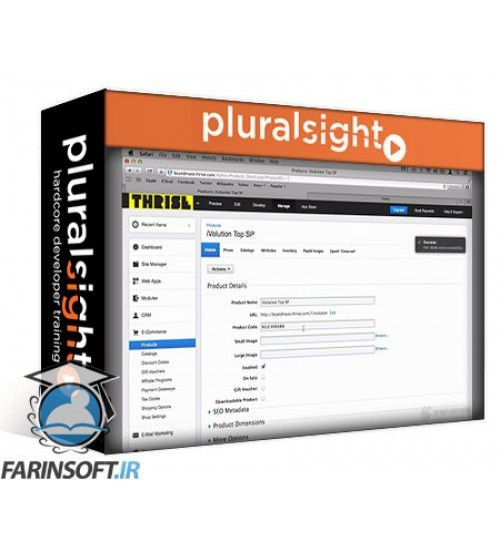 آموزش PluralSight Muse CC Business Catalyst Integration