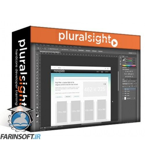 آموزش PluralSight Photoshop to HTML