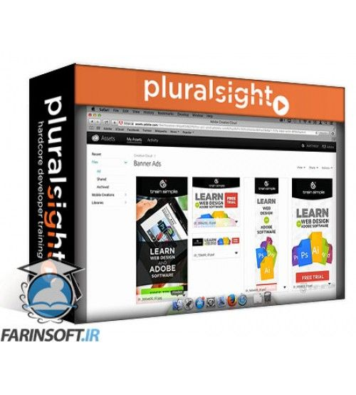 آموزش PluralSight Creative Cloud Overview