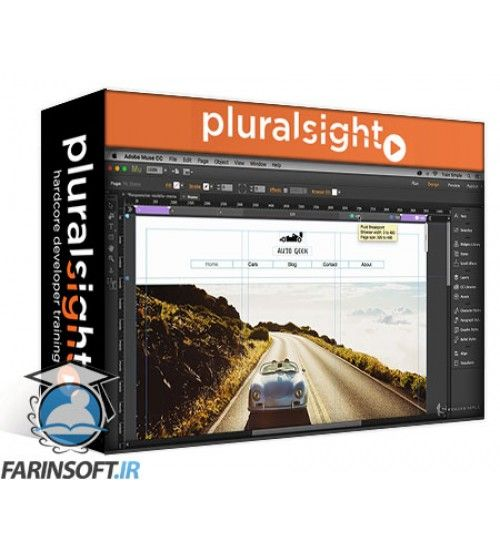 آموزش PluralSight Muse CC Responsive Design