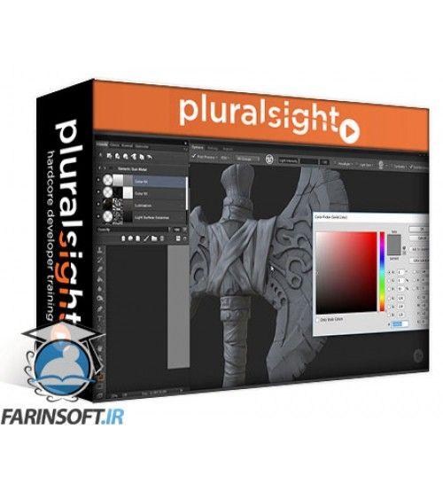 آموزش PluralSight Texturing a Stylized Weapon in Quixel SUITE 2