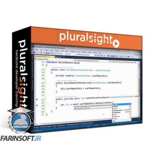 آموزش PluralSight Using OAuth to Secure Your ASP.NET API