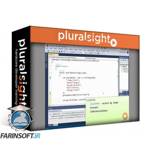 آموزش PluralSight C# Collections Fundamentals