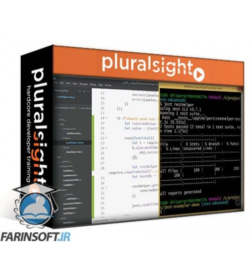 آموزش PluralSight Mastering React Testing with Jest