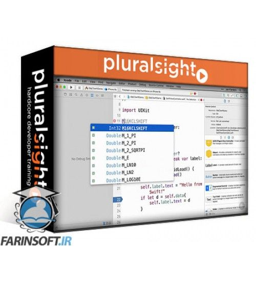 آموزش PluralSight Swift for iOS Developers