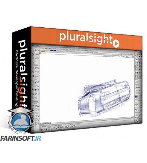 دانلود آموزش PluralSight Sketching a Sports Car Using Autodesk Alias