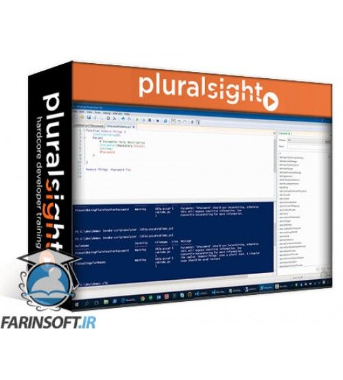 آموزش PluralSight Play by Play: Open Source Projects from the PowerShell Team