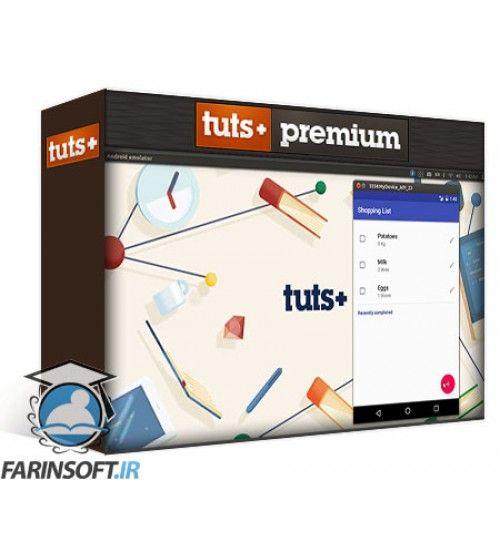 آموزش Tuts+ Build a Material Design App