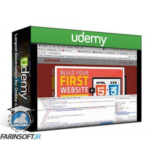 آموزش Udemy Learn To Build Beautiful HTML5 And CSS3 Websites In 1 Month
