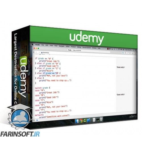 آموزش Udemy Swift Essentials - Learn Swift 2.1 Step by Step