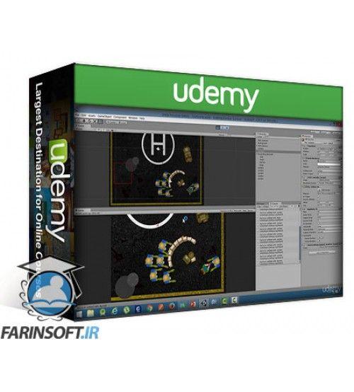 آموزش Udemy 2D Zombies Game: Android and iOS Game Development with Unity