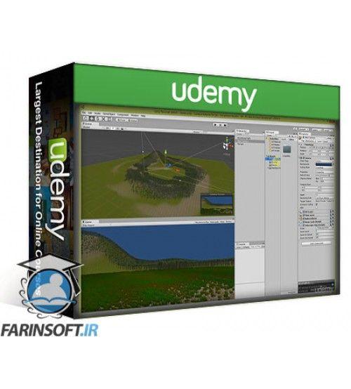 آموزش Udemy Fundamentals of First Person Shooter Games in Unity
