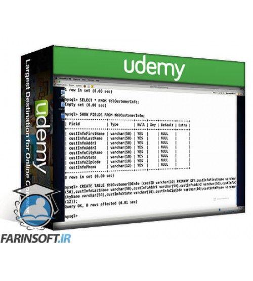 آموزش Udemy LinuxAcademy – S.Q.L Primer