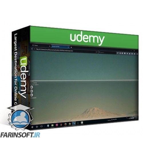 آموزش Udemy Build Your First Glass Web App Theme With CSS3 And HTML5