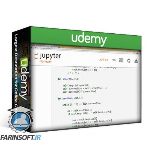 آموزش Udemy Python for Data Structures, Algorithms, and Interviews!