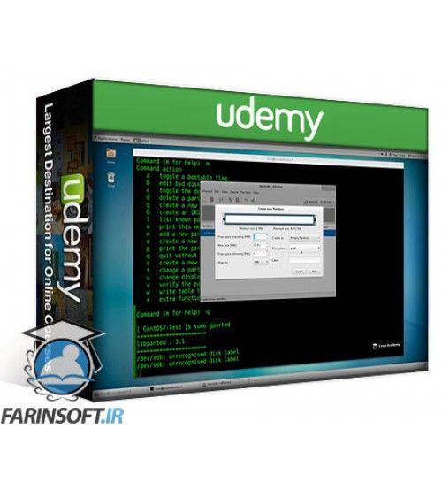 آموزش Udemy CentOS 7: Enterprise Linux Server Update