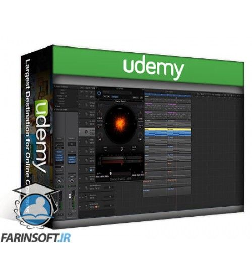 آموزش Udemy ADSR Sounds Mixing For The Kick