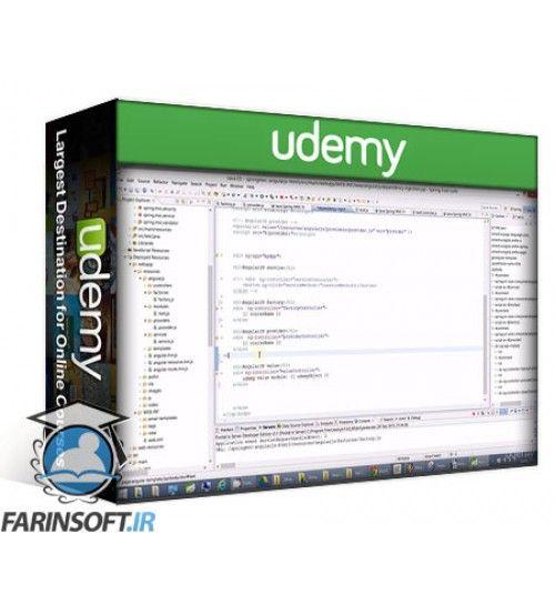 آموزش Udemy Java Spring MVC Framework with AngularJS by Google and HTML5
