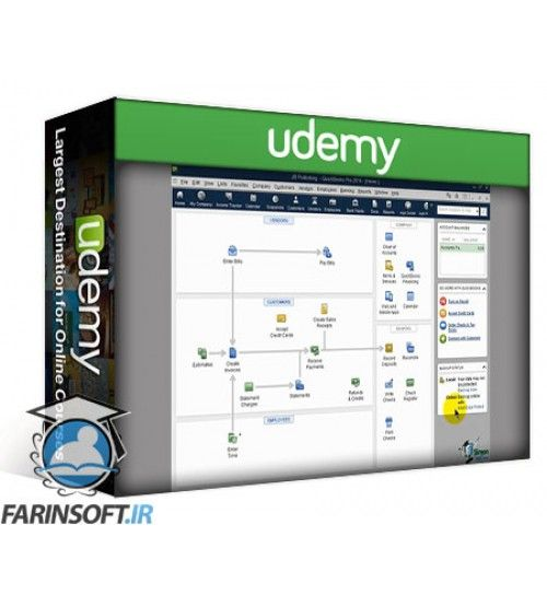 آموزش Udemy The Ultimate QuickBooks Pro Training Bundle - 38 Hours