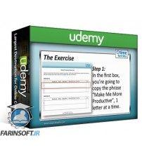 آموزش Udemy Learn Time Management Get Organized & Get Everything Done
