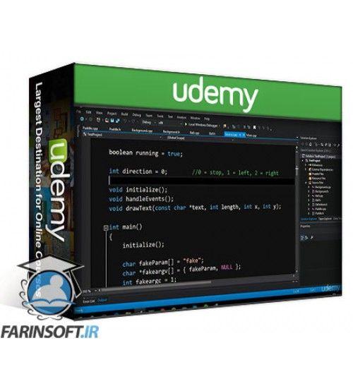 آموزش Udemy Using OpenGL and SDL in Game and Graphic Programming in C++