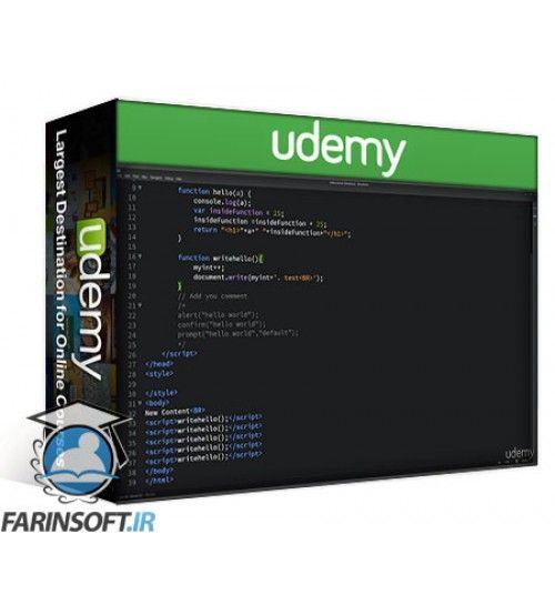 آموزش Udemy Beginners Guide to JavaScript Dynamic HTML interaction