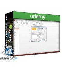 آموزش Udemy Create Database Applications Using MS Access 2013