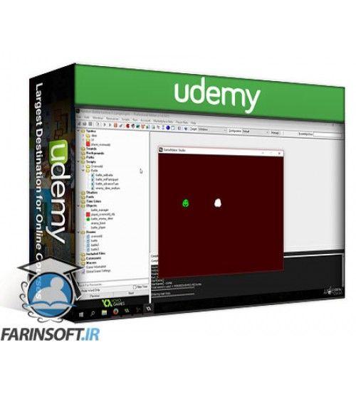 آموزش Udemy Creating a Random Battle System for a Game Maker Studio RPG