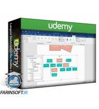 آموزش Udemy 77-418 Session 2:Improve MS Word skills to certificate level