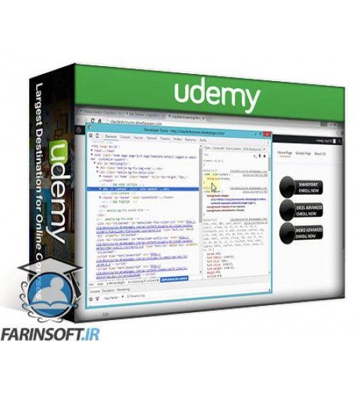 آموزش Udemy Practical CSS Website Development: Crash Course