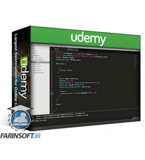 آموزش Udemy The Complete Sass & SCSS Course: From Beginner to Advanced