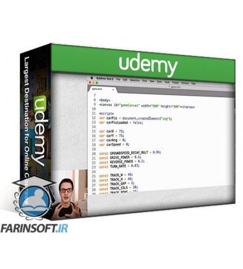 آموزش Udemy How to Program Games: Tile Classics in JS for HTML5 Canvas