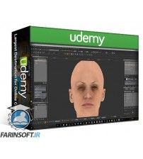دانلود آموزش Udemy Painting a Realistic Skin Texture Using Mari