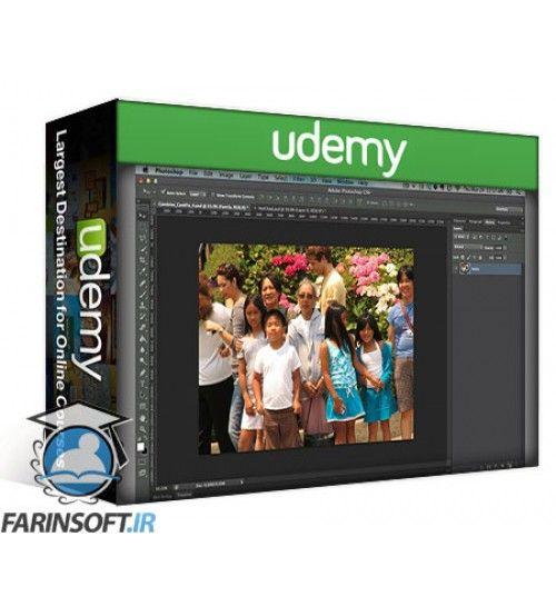 آموزش Udemy Photoshop Made Easy and Fun