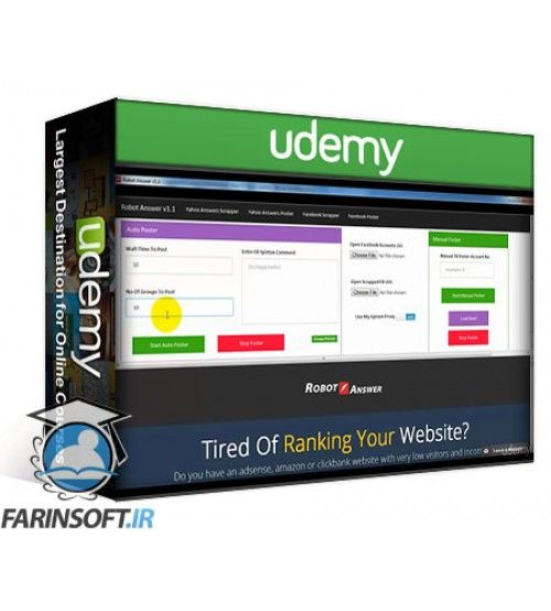 آموزش Udemy Affiliate Marketing Clickbank STRATEGY