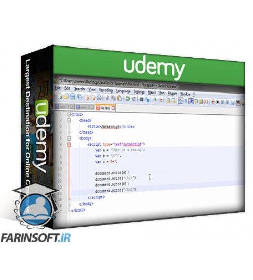 آموزش Udemy JavaScript: Complete JavaScript foundation & Object Oriented