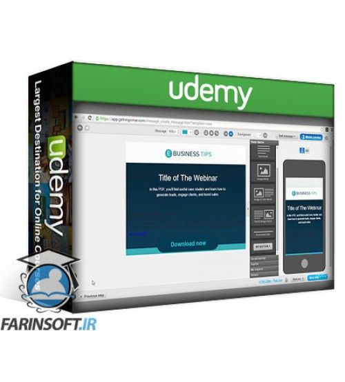 آموزش Udemy Digital Marketing - How to use Webinars for your Business