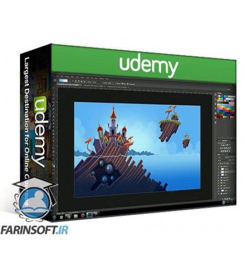 دانلود آموزش Udemy Learn Professional 2D Game Graphic Design