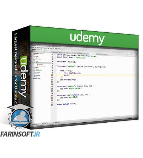 آموزش Udemy Typescript Async/Await in Node JS with testing