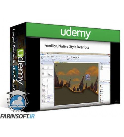 آموزش Udemy Learn Easy HTML5 Game Development in Construct 2