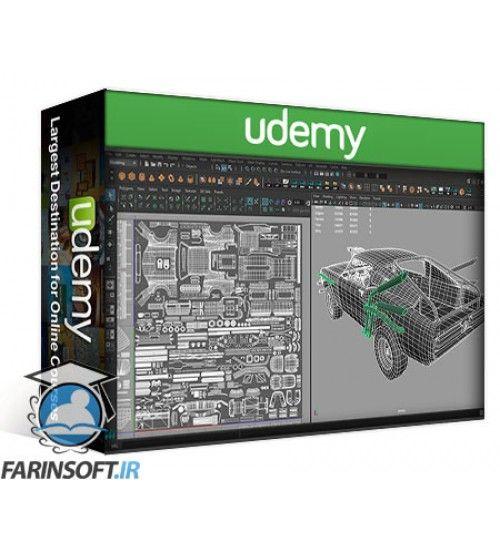 آموزش Udemy Game Vehicle Development