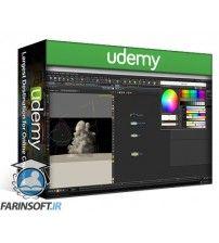 آموزش Udemy CGCircuit – Volume Rendering Using Houdini & Arnold