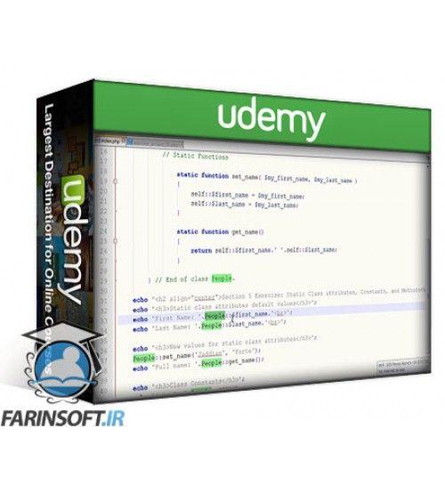 آموزش Udemy PHP Object Oriented Programming Fundamentals (OOP)