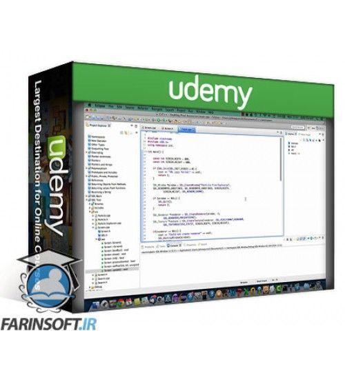 آموزش Udemy C++ Tutorial for Complete Beginners