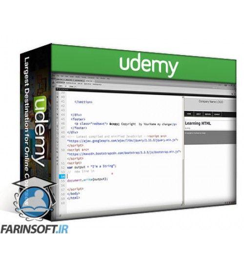 آموزش Udemy Essentials of JavaScript Practice Coding Exercises Tips