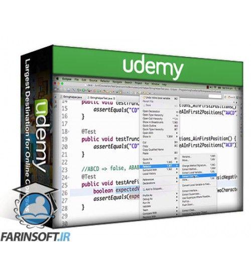 آموزش Udemy JUnit Tutorial for Beginners - Learn Java Unit Testing