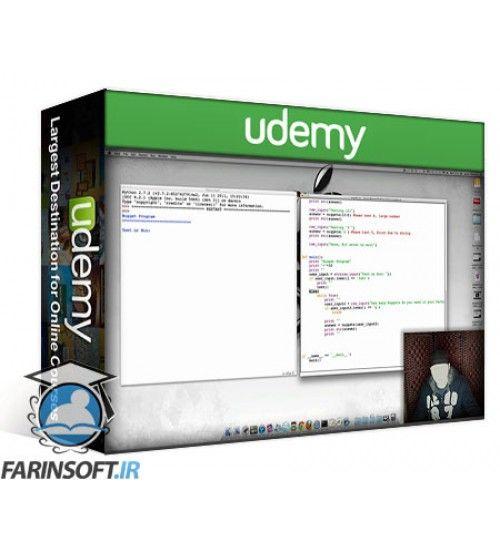 آموزش Udemy Learn Python its CAKE (Beginners)