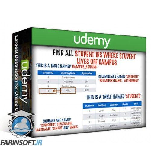 آموزش Udemy From 0 To 1:SQL And Databases - Heavy Lifting